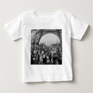 Under the Eiffel Tower 1900 Paris Exposition Baby T-Shirt