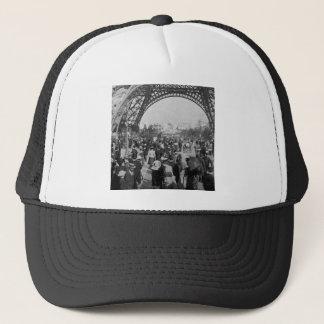 Under the Eiffel Tower 1900 Paris Exposition Trucker Hat