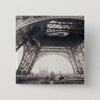 Under the Eiffel Tower, before ascending, from 'L' Button