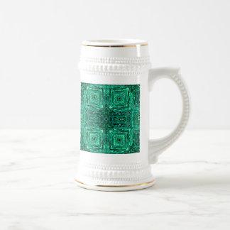 Under the Emerald Sea Beer Stein