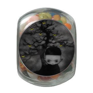 Under the Fan Tree Jelly Belly Candy Jar