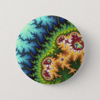 Under The Forest - Fractal Button