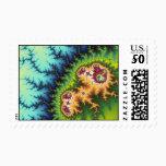 Under The Forest - Fractal Stamp