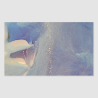Under the Froth collection Rectangular Sticker