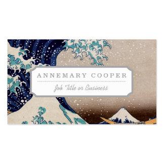 Under the Great Wave off Kanagawa Business Card
