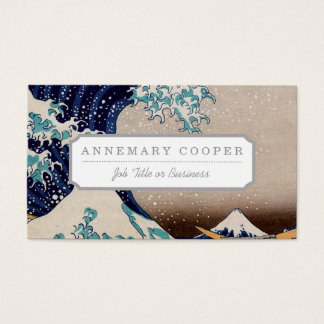 Under the Great Wave off Kanagawa Business Card