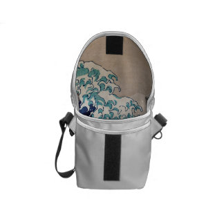 Under the Great Wave off Kanagawa Courier Bag