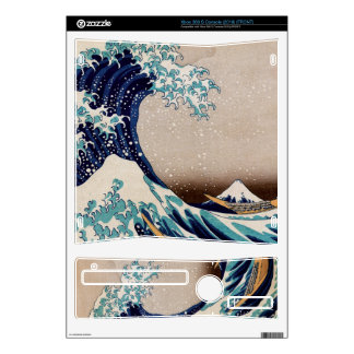 Under the Great Wave off Kanagawa Decal For Xbox 360 S