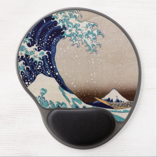 Under the Great Wave off Kanagawa Gel Mouse Pad