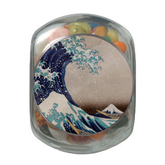 Under the Great Wave off Kanagawa Jelly Belly Candy Jars