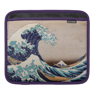 Under the Great Wave off Kanagawa Sleeve For iPads