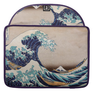 Under the Great Wave off Kanagawa Sleeves For MacBook Pro