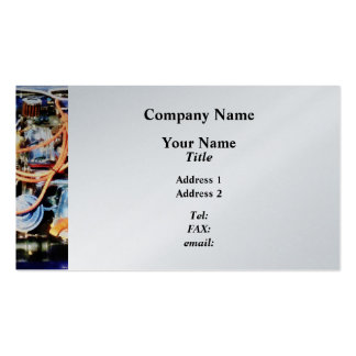 Under the Hood Abstract - Platinum Business Card