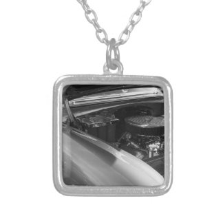 Under The Hood Silver Plated Necklace