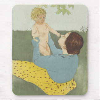 Under the Horse Chestnut Tree by Mary Cassatt Mouse Pad