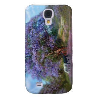 Under The Jacaranda Art Case for iPhone 3 Samsung Galaxy S4 Covers