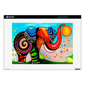 "Under the Land of Elephants 15"" Laptop Skins"
