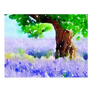 Under the Lavender Tree Postcard