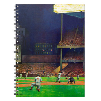 Under The Lights by John Falter Notebook