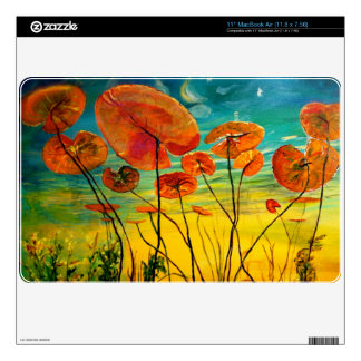 Under the Lily Pads  MacBook Air Skin