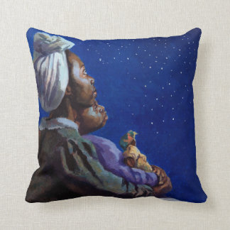 Under the Midnight Blues 2003 Throw Pillow