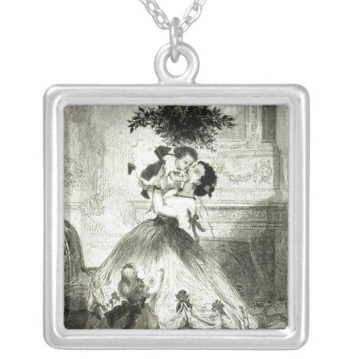 Under the Mistletoe' Custom Necklace