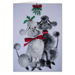 Under the Mistletoe Greeting Cards