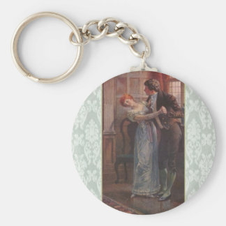 Under the Mistletoe Keychain