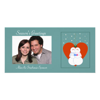 Under The Mistletoe Photo Cards