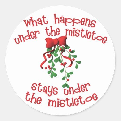 Under the Mistletoe Stickers