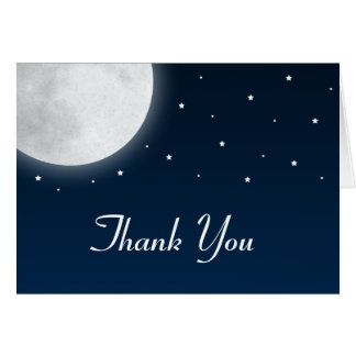 Under the Moonlight Thank You Card