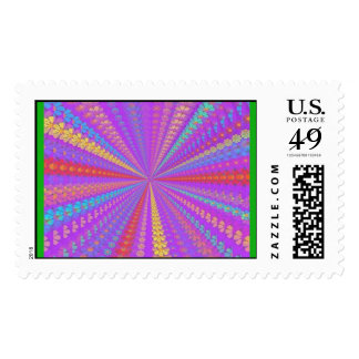 Under the Mushroom Postage Stamps