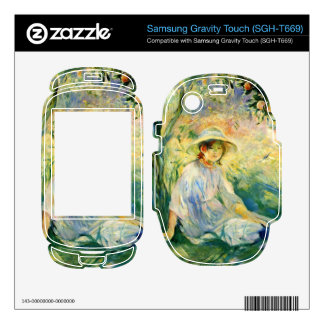 Under the Orangetree by Berthe Morisot Samsung Gravity Touch Skins
