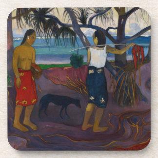 Under the Pandanus, 1891 (oil on canvas) Beverage Coaster