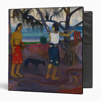 Under the Pandanus, 1891 (oil on canvas) Binder