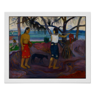 Under the Pandanus, 1891 (oil on canvas) Print