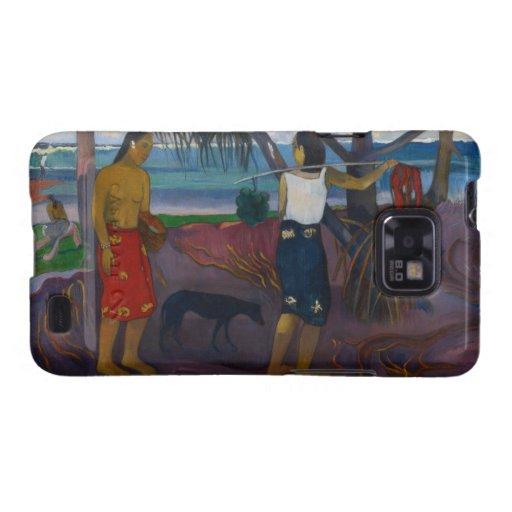 Under the Pandanus, 1891 (oil on canvas) Samsung Galaxy SII Case