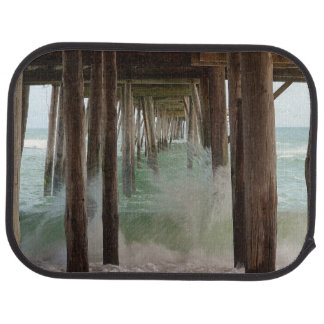 Under The Pier by Shirley Taylor Car Mat