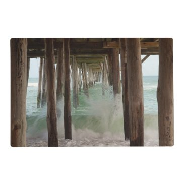 shirleytaylor Under The Pier by Shirley Taylor Placemat