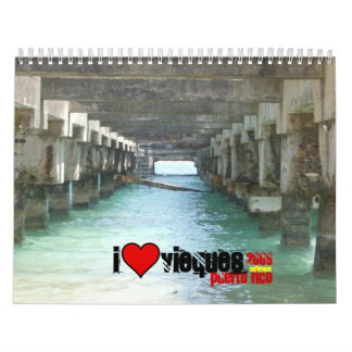 Under the Pier in Esperanza, heart, 2009, puert... Calendar