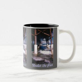 Under The Pier Large Mug