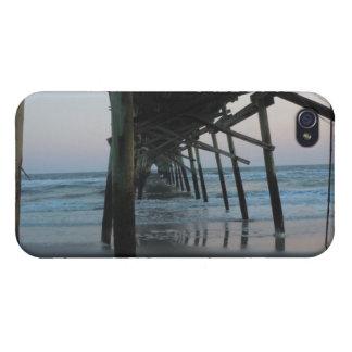 Under the Pier - Oak Island, North Carolina iPhone 4 Case