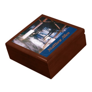 Under the Pier Personalized Jewelry Box