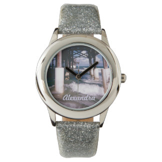 Under the Pier Personalized Watch