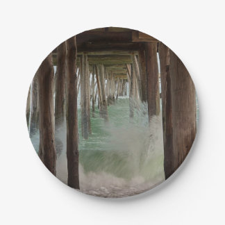 Under The Pier 7 Inch Paper Plate