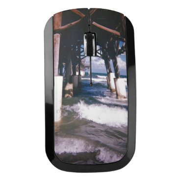 Beach Themed Under the Pier Wireless Mouse