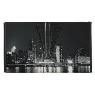 Under the QueensBoro Bridge - NYC iPad Folio Case