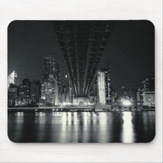 Under the QueensBoro Bridge - NYC Mouse Pad