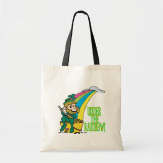 Under The Rainbow Tote Bags