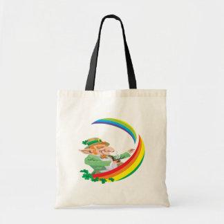 Under The Rainbow Canvas Bags